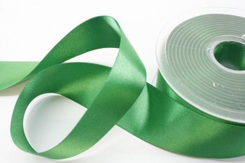 Satijnlint op rol groen 38 mm