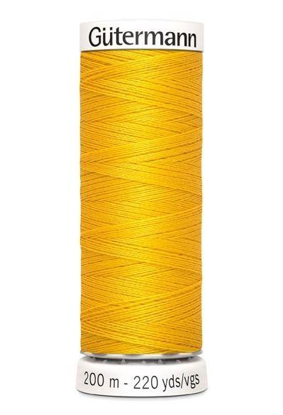 Gütermann garen 200 meter geel # 106