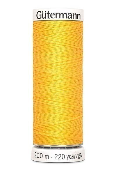 Gütermann garen 200 meter donker geel #417