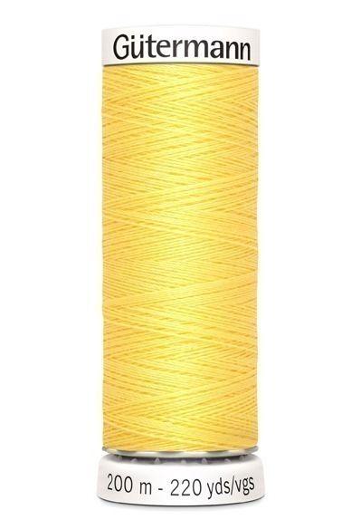 Gütermann garen 200 meter geel #852