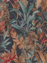 Gobelin panter in jungle