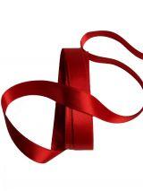Satijnlint 15 mm rood 3 meter