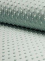 Minky fleece stof dusty mint
