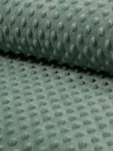 Minky fleece stof dusty green