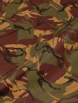 Parachutestof camouflage