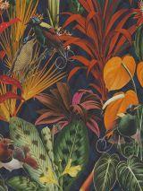 Velours digitale print jungle