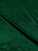 Velours de Panne donker groen