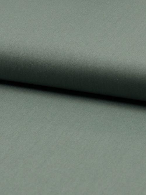 Biologisch katoen poplin dusty mint