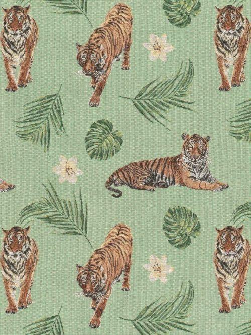 Gobelin tijgers en varens