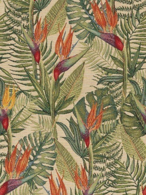 Gobelin tropische bloemen