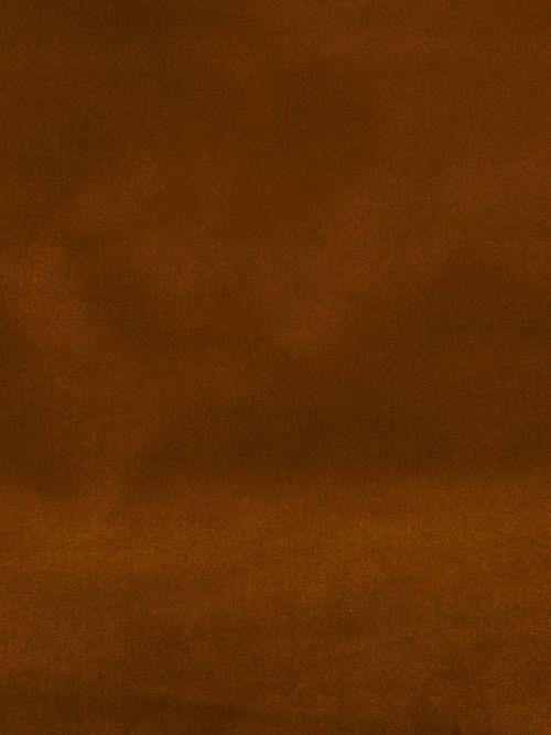 Meubelstof velours Genova roestbruin