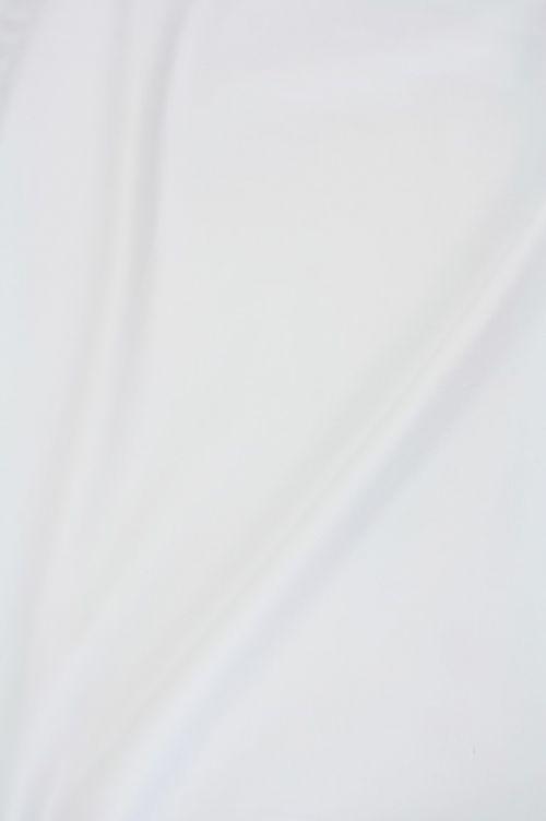 Geruwd katoen wit