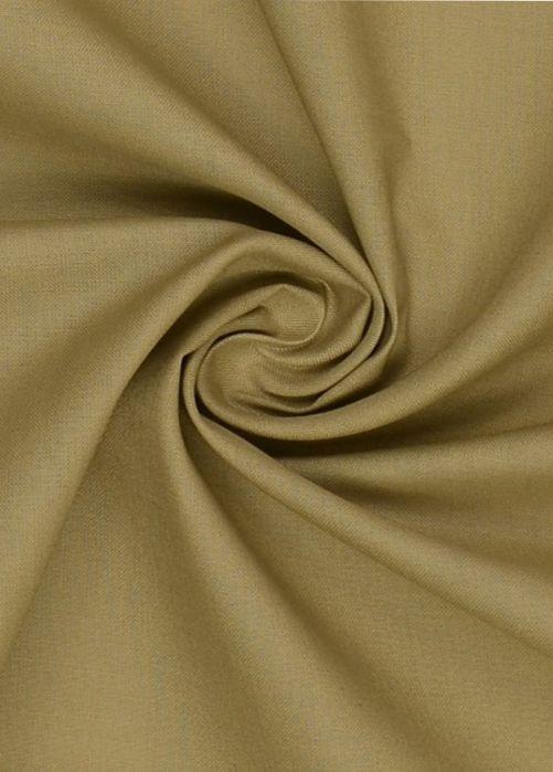 Katoen stof beige