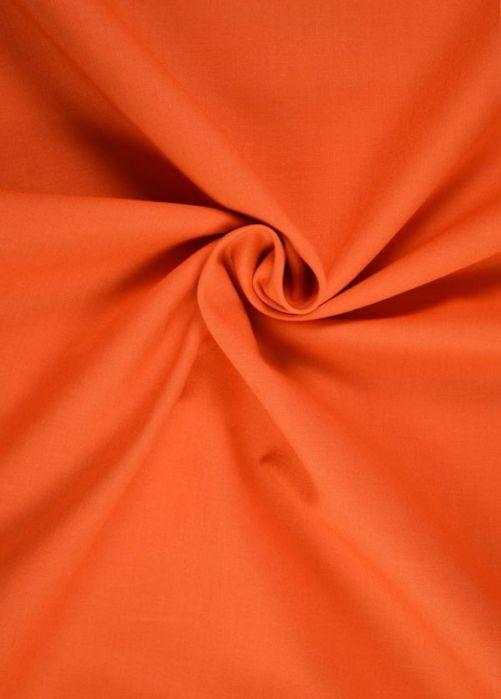 Katoen stof oranje