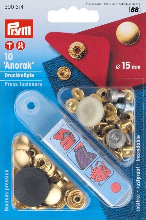 Prym drukknopen Anorak 15 mm