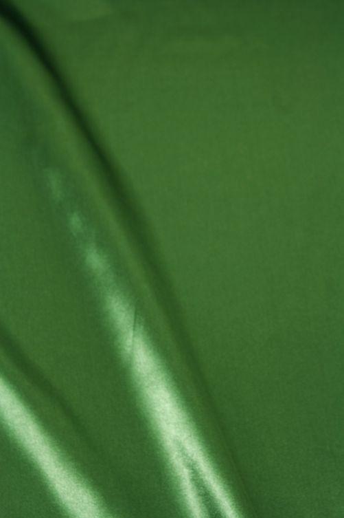 Satijn stof groen