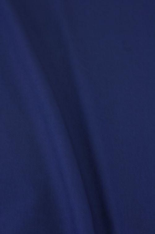 katoen stof blauw