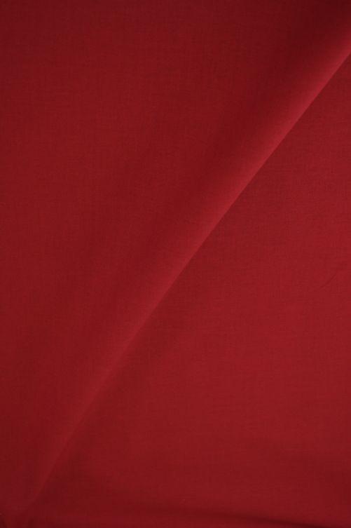 Katoen stof donker rood