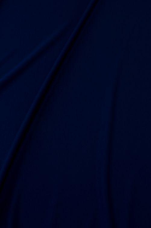 lycra stof marine blauw