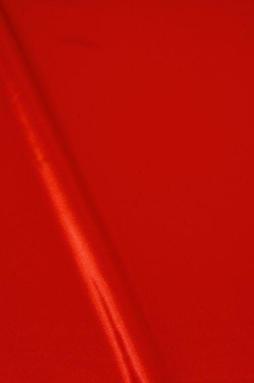 Satijn stof rood