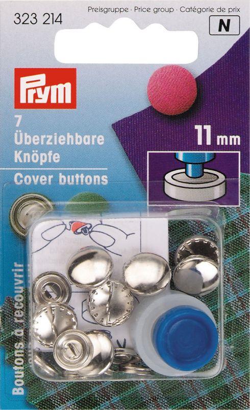 Prym stofknopen 11 mm 323214