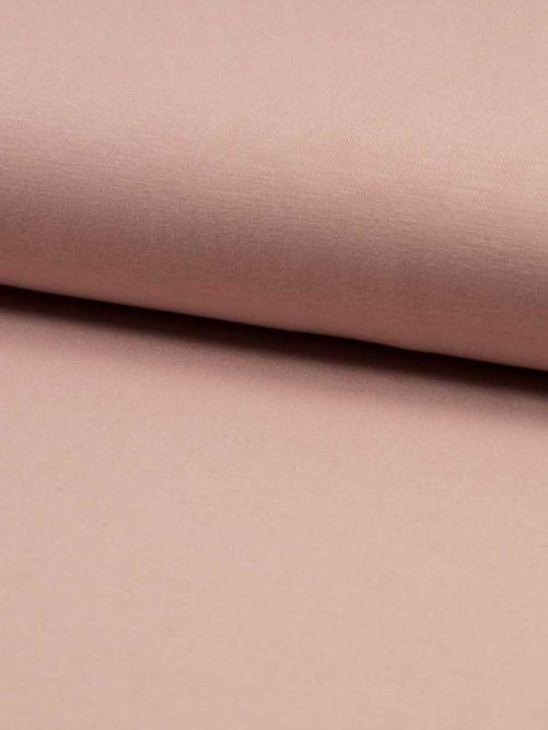 bamboe jersey dusty roze