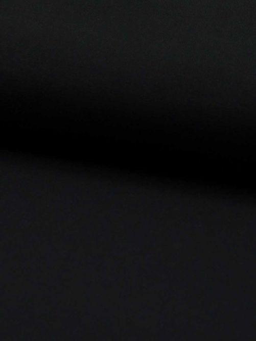 bamboe jersey zwart