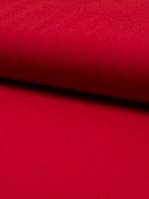 Crepe georgette rood