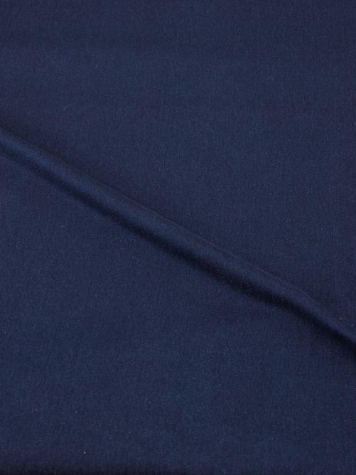 Spijkerstof stretch dik donkerblauw