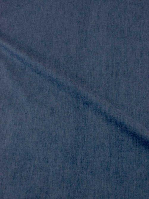 Spijkerstof stretch dun blauw