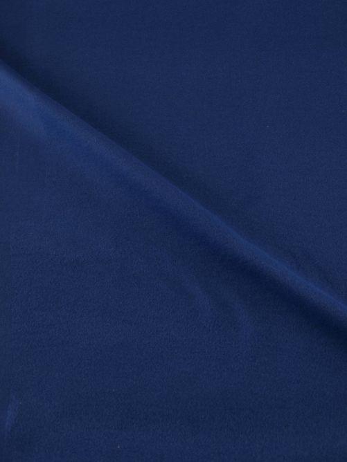 Flanel stof blauw