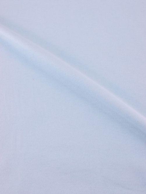 Flanel stof licht blauw