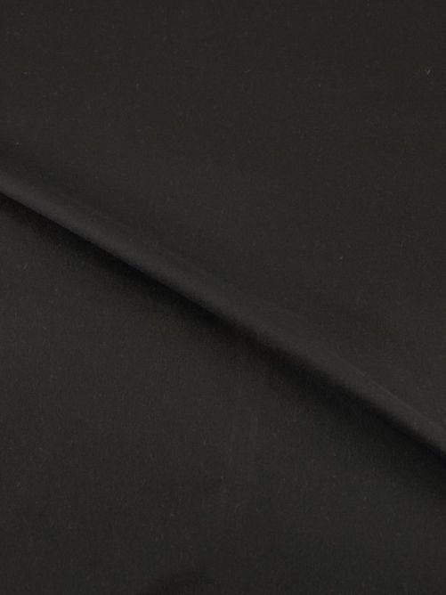 Flanel stof zwart