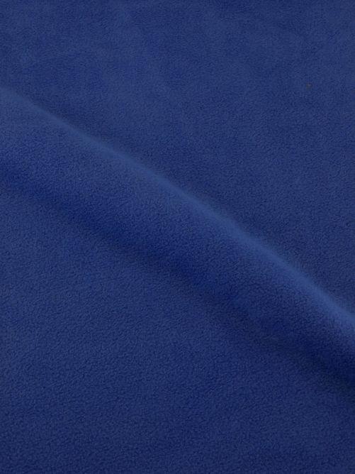 fleece stof blauw