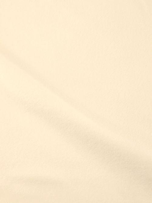 fleece stof ecru