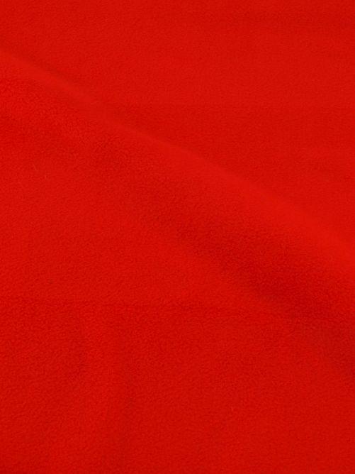 fleece stof rood