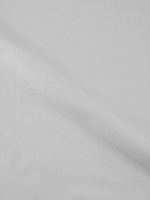 fleece stof wit