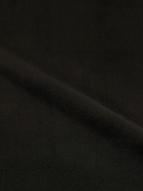 fleece stof zwart