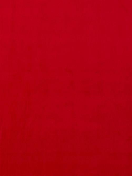 Velours stof Firenze rood