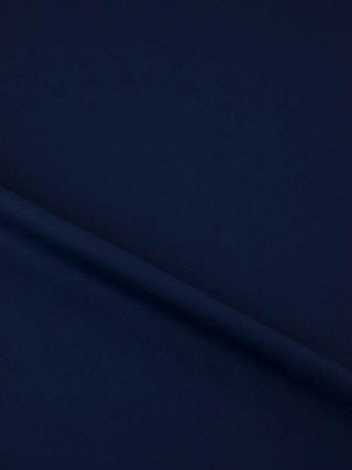 Heavy jersey donker blauw