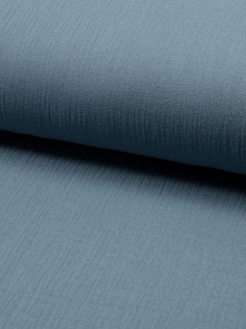 Hydrofiel stof dusty blue