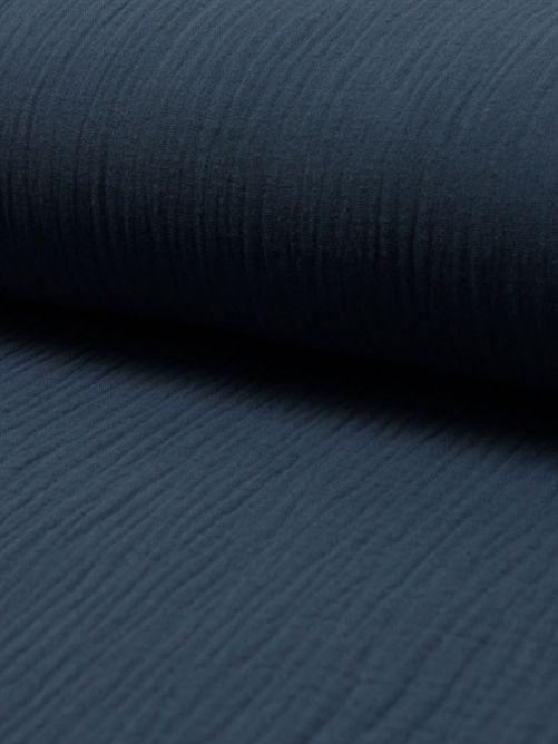 Hydrofiel stof donker blauw