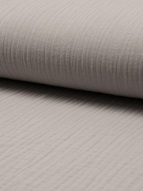 Hydrofiel stof licht grijs