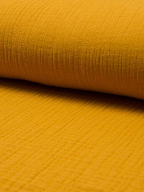 Hydrofiel stof oker geel
