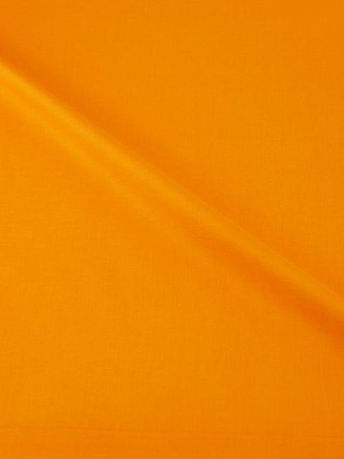 Katoen stof donker geel