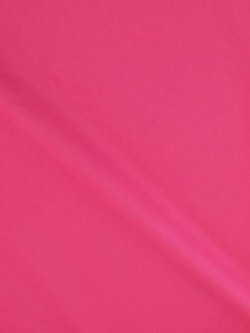 katoen stof donker roze