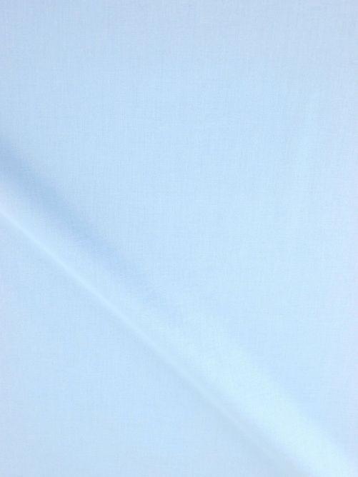 katoen stof licht blauw