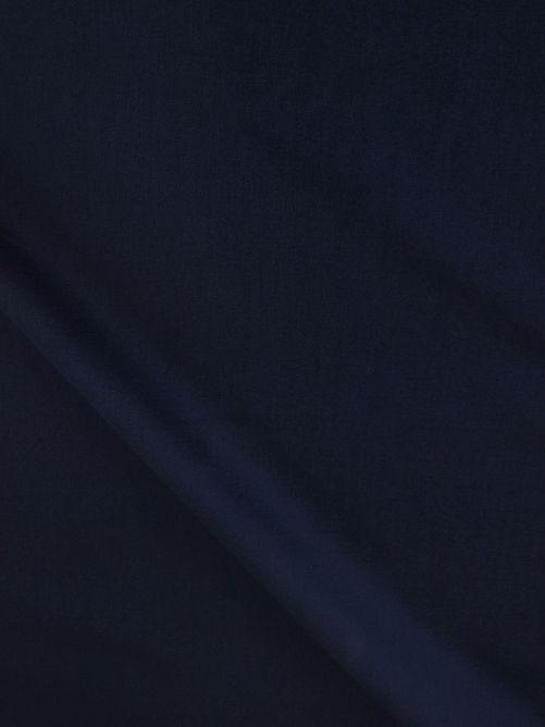 katoen stof marine blauw