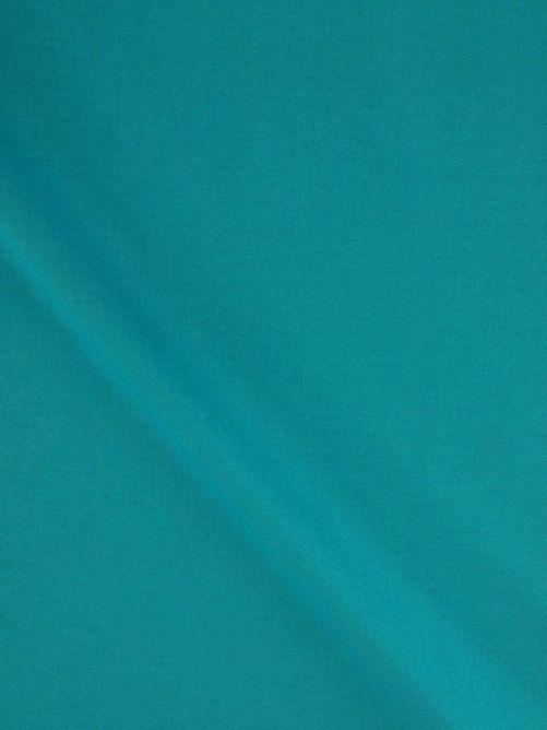 Katoen stof turquoise