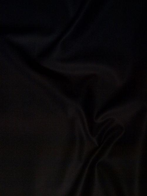 keper katoen stof zwart